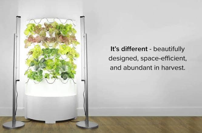 インテリアにもなる家庭用菜園iHarvest™