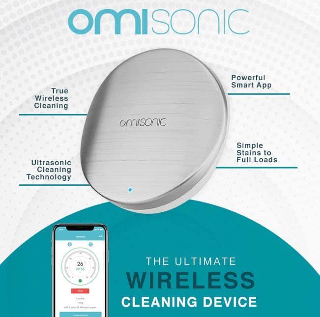世界初超音波洗浄機OmiSonic