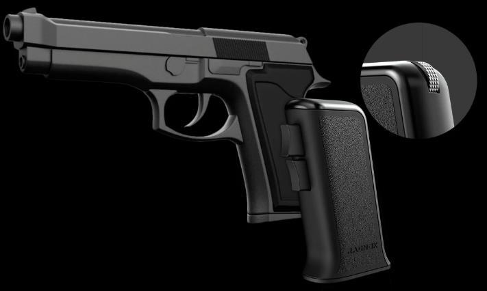 世界初銃グリップ型マウスRagnok