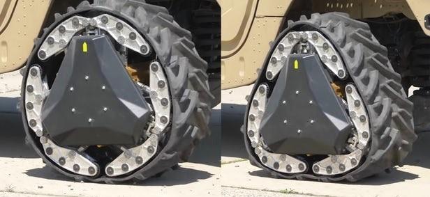 DARPAが開発したあらゆる地形に対応できるタイヤRWT