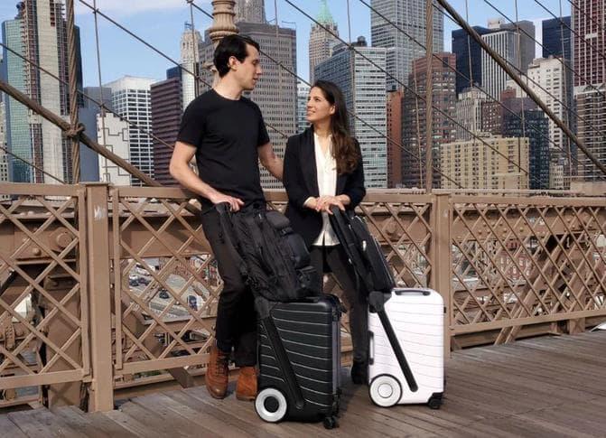 すべての地面に対応して健康にスーツケースThe SIX