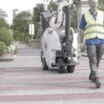 街を掃除するロボットTSM Ariamatic 240