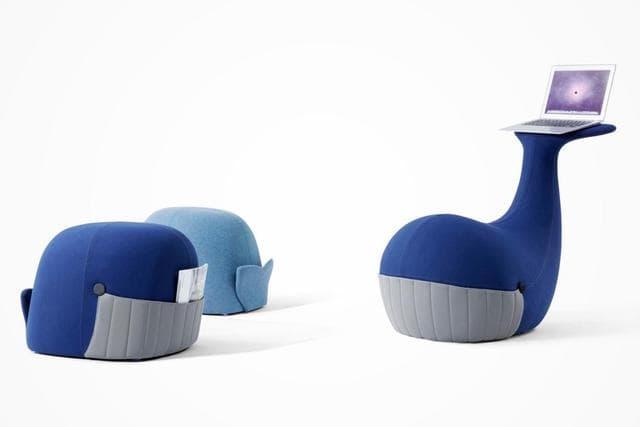 機能性抜群かわいいクジラ椅子SAMU