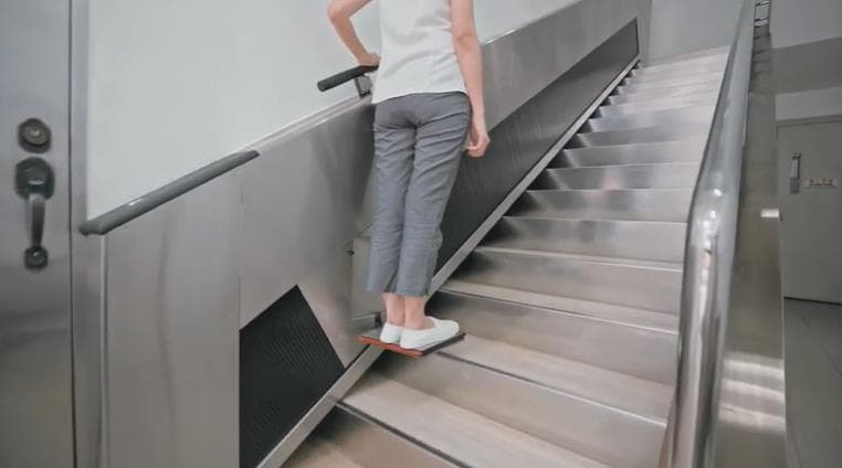 超簡単に取り付けるエスカレーターAL-SUS STEP LIFT