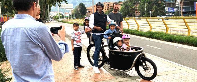 子どもと大量荷物を楽に運べるエコ移動Bogbi Cargo Bike