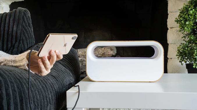 ワイヤレス充電できるケーブル収納ボックスWarehouse Box