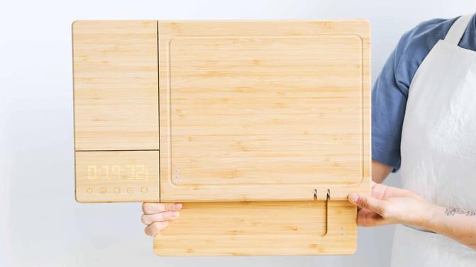 世界初スマートまな板ChopBox