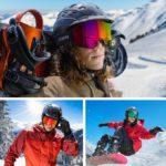 骨伝導で通話可能なスキーゴーグルICEBRKR