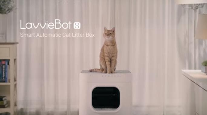 21日間掃除不要!全自動猫トイレLavvieBot S