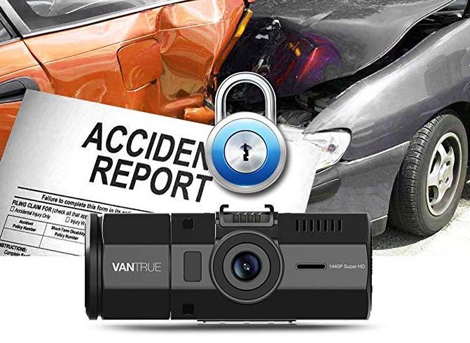 車内外前後同時録画録音ドライブレコーダーVANTRUE N2 Pro