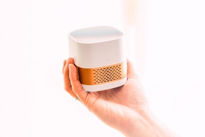 ワイヤレスコンパクト空気清浄機Luft Cube