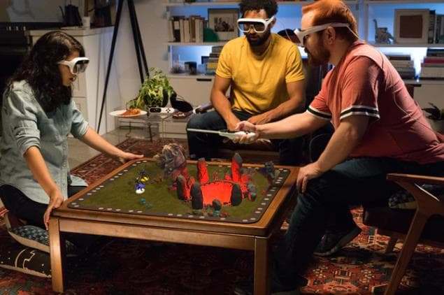 ボードゲームをARで超リアルに遊べるTilt Five