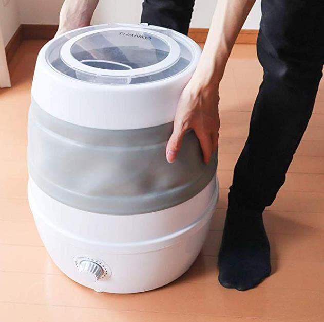 収納便利!折りたたみ洗濯機THANKO