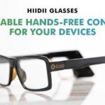 パソコンを操作できるメガネHiiDii Glasses