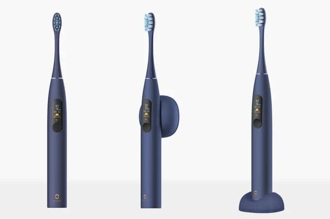 タッチスクリーンで操作可能な電動歯ブラシOclean X Pro
