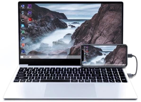 スマホをパソコンで操作するPhoneBook