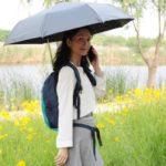 ハンズフリーできる傘FREEDOM