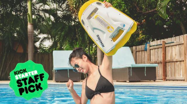 泳ぎと水遊びをもっと安全で楽しくするSWIMN S1
