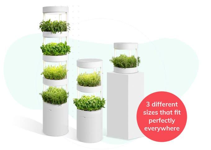 全自動モジュール式屋内家庭菜園Verdeat