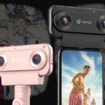 スマホで3DVR動画が撮影できるカメラVIEWPT NANO